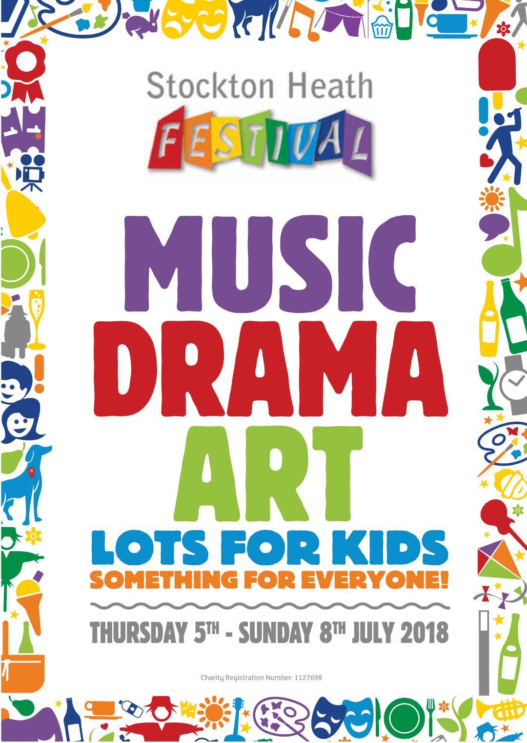 Stockton Heath, Festival, programme, 2018